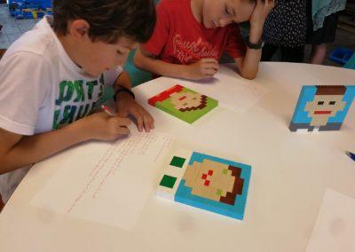 "Eifriges ""Coden"": LEGO Algorithmus"