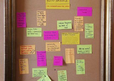 Projektwand: Ideen aus dem Tal