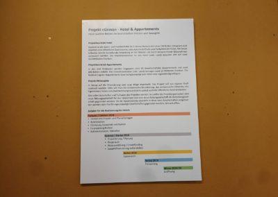 Ausstellung: Das Hotelprojekt «Grava»